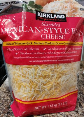 Mexican style blend chesse - Product