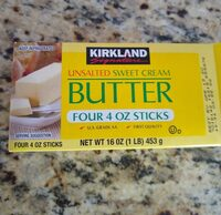 Unsalted sweet cream butter - Product - en