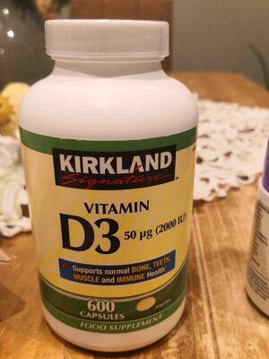 Kirkland Signature Vitamin D3 - Product