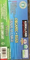 Organic Eggs Grade AA Large - Product - fr