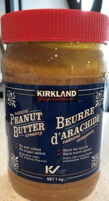 Natural Peanut Butter Creamy - Product - en
