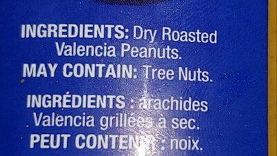 Natural Peanut Butter Creamy - Ingredients - en
