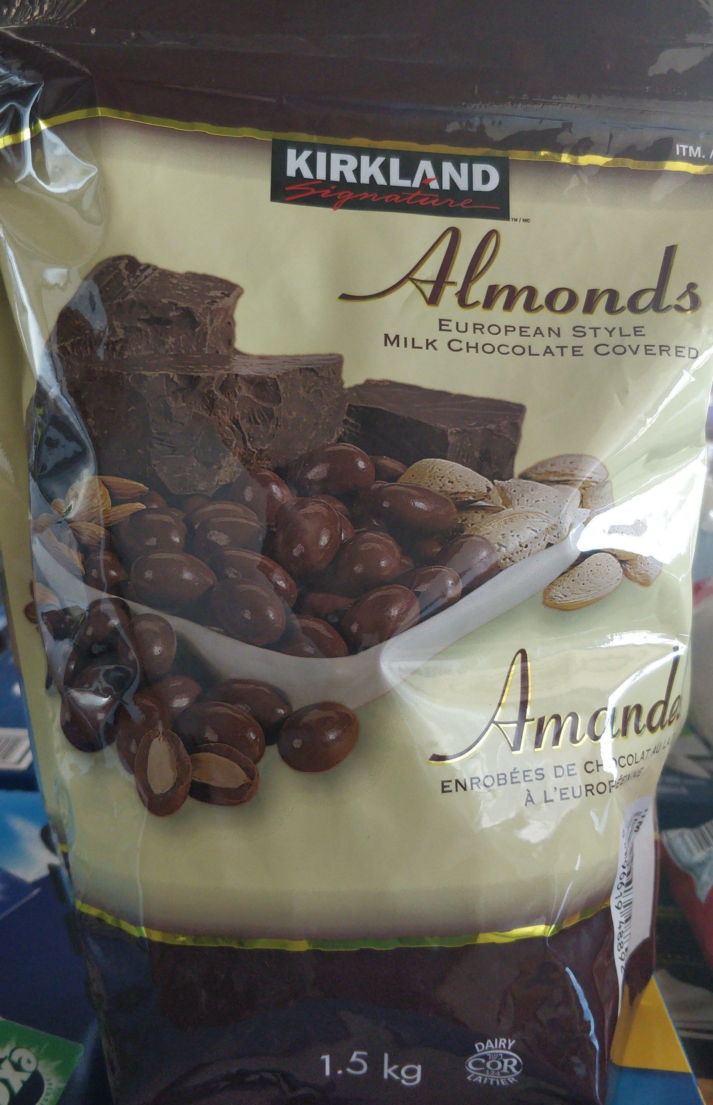 Amandes enrobées de chocolat au lait - Kirkland Signature