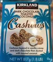 Dark Chocolate Toasted Coconut Cashews - Product