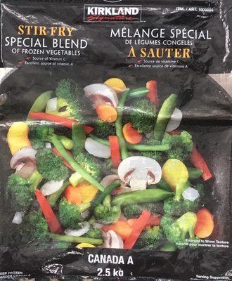 Mélange spécial de légumes congelés - Produit