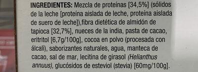Barre protéinée - Ingredientes - es
