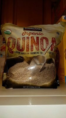 Kirkland Signature Organic Gluten-free Quinoa From Andean Farmers To Your Table - 2.04KG. , 4.5LB - Product