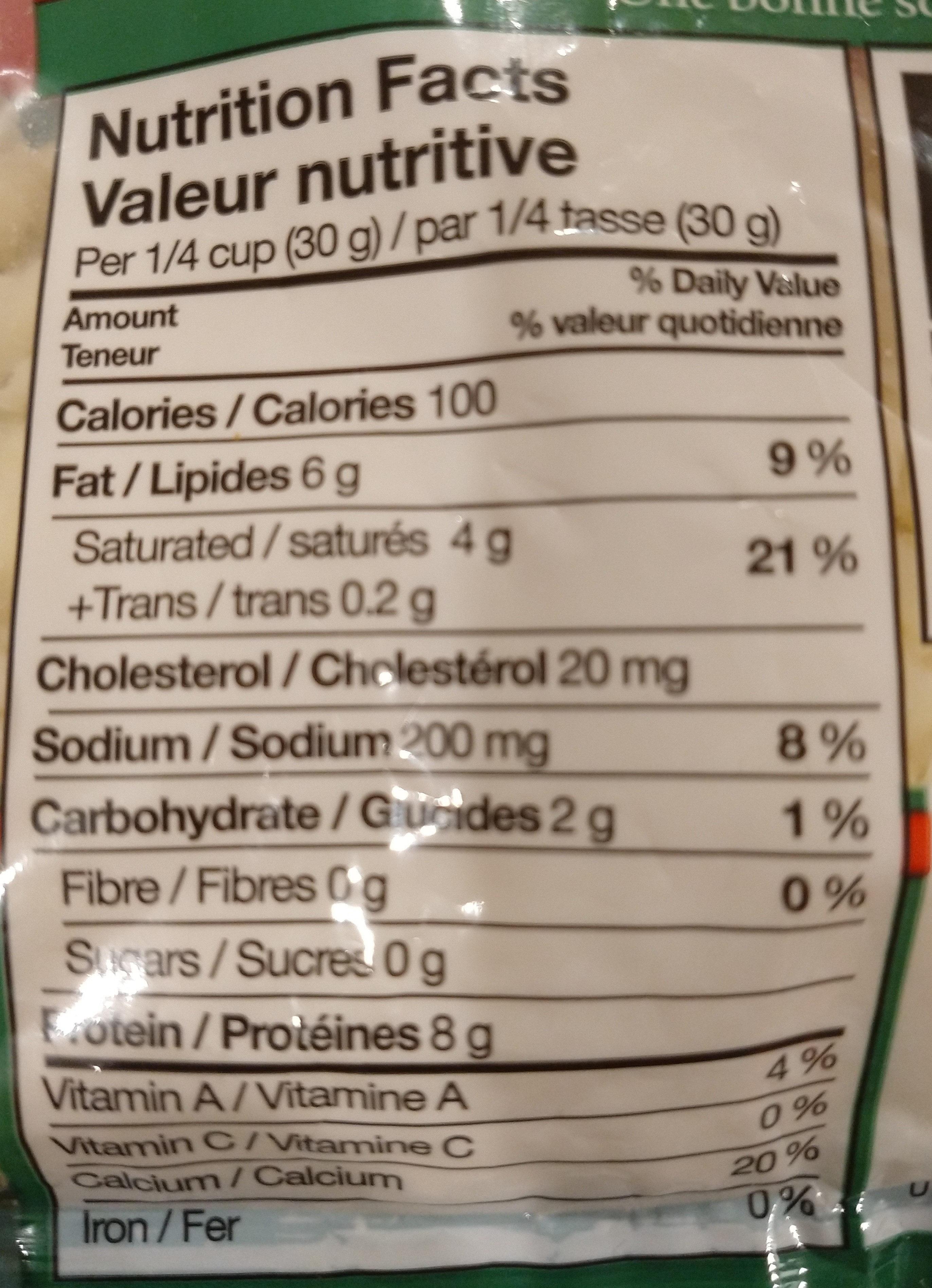 33 Mozzarella Cheese Nutrition Label - Labels Database 2020