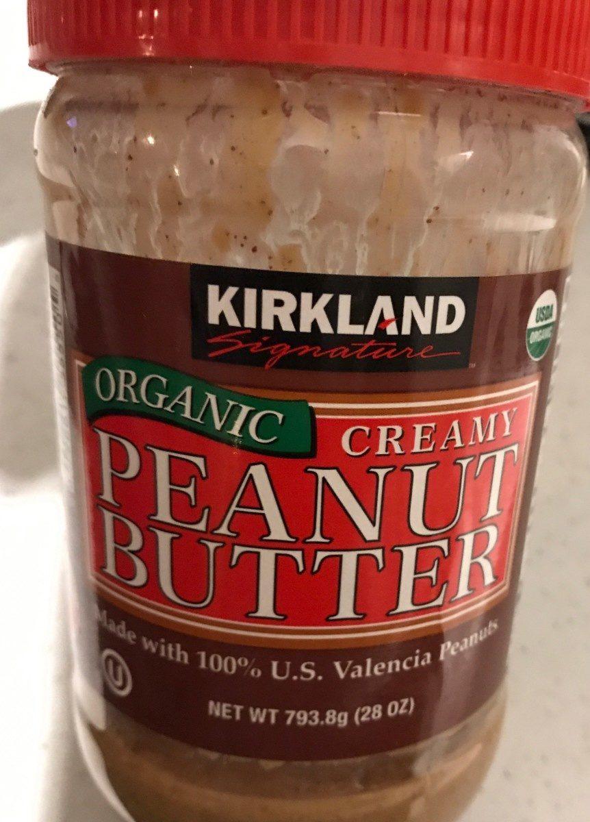 Organic Creamy Peanut Butter - Produit