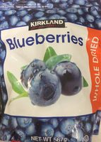 Blueberries Whole Dried - Product - fr