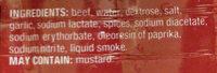 Beef Polish Sausages - Ingredients - en