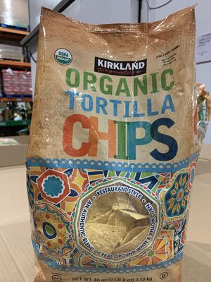 Organic Tortilla Chips - Product - en