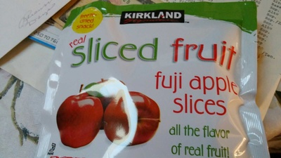 Fuji apple slices - Product - en