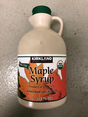 Maple Syrup - Produit