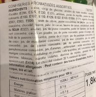 Jelly beans 45 flavour jar - Ingrediënten - fr