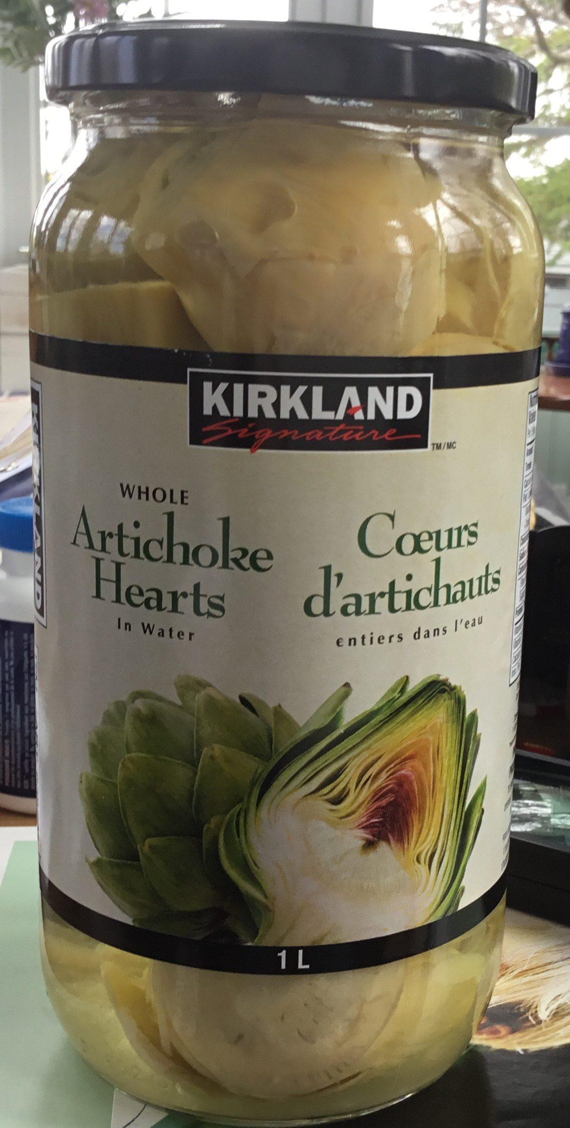 Cœurs d'artichauts - Product - fr