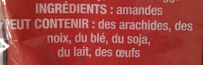Almendras - Ingrédients - en