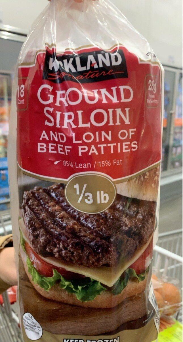 Ground sirloin - Product - en