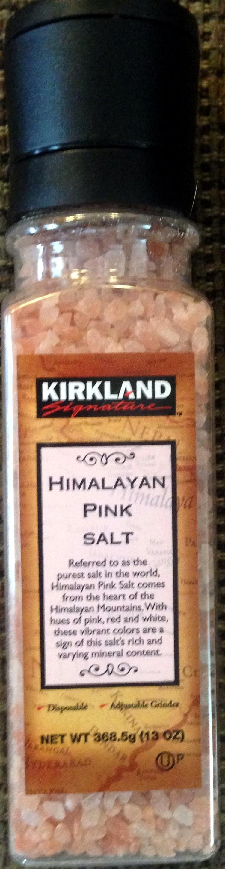 Himalayan Pink Salt - Product