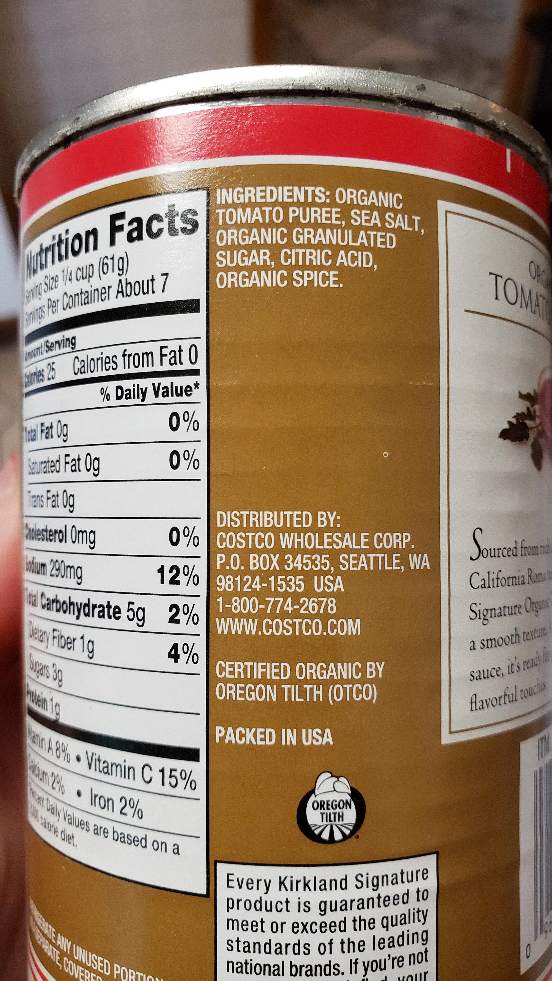 Organic Tomato Sauce - Product - en
