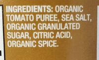 Organic Tomato Sauce - Ingredients - en