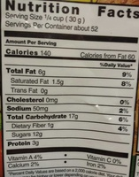 kirkland fruit nut medley - Nutrition facts