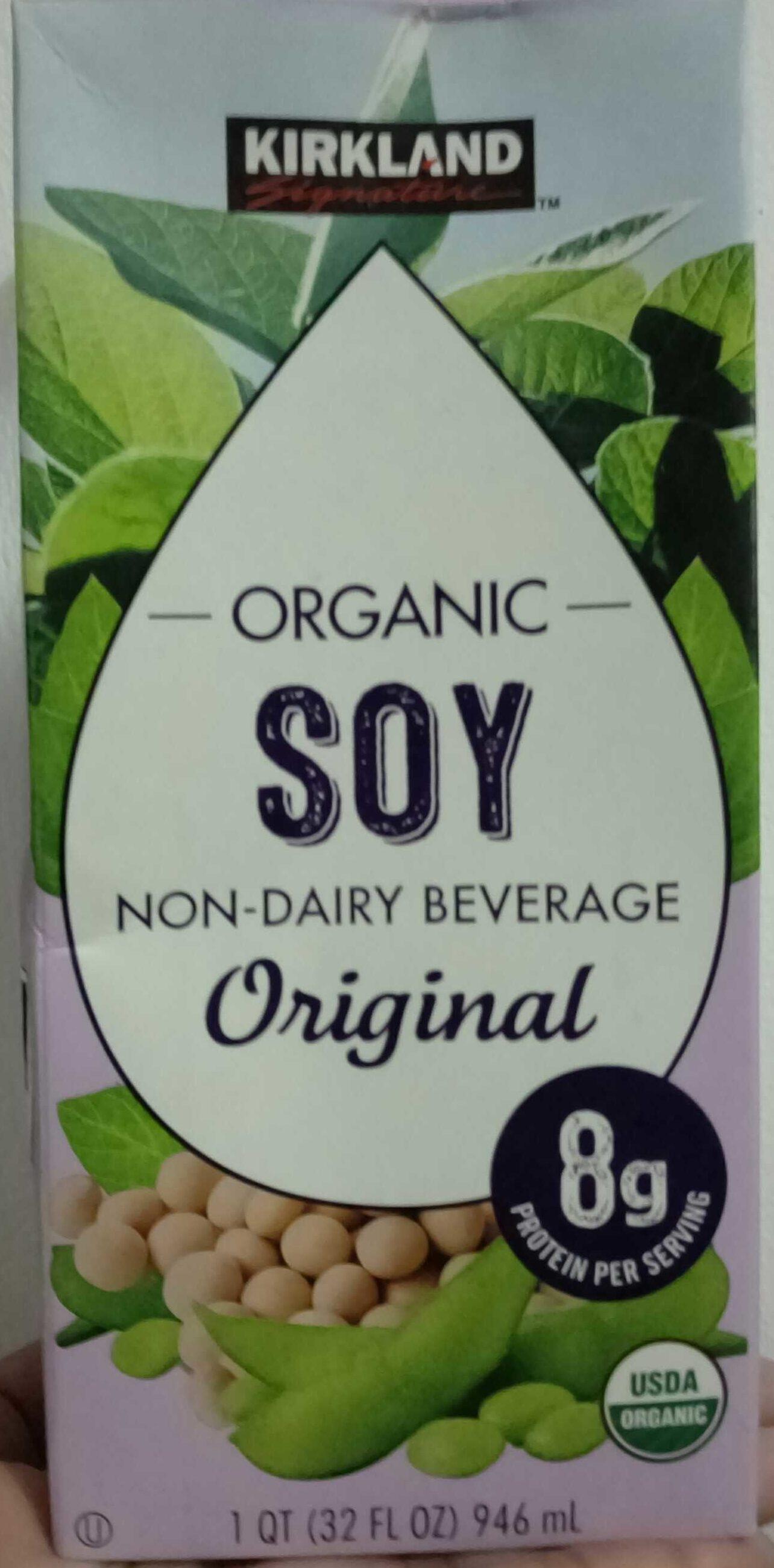 Organic Soy non-dairy Beverage - Product - en