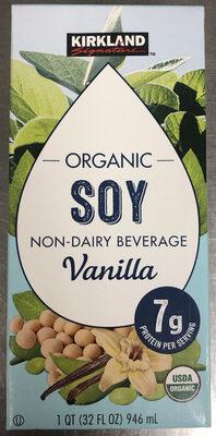 Organic Soy Non-Dairy Beverage Vanilla - Product - en