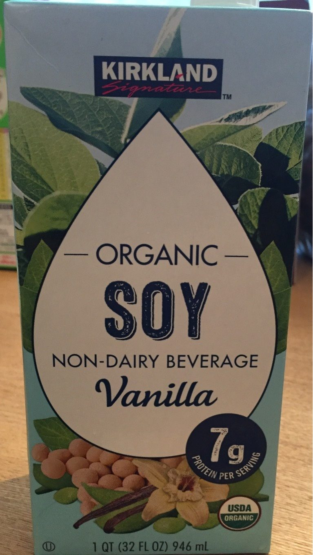 Kirkland Organic Soya Milk Vanilla