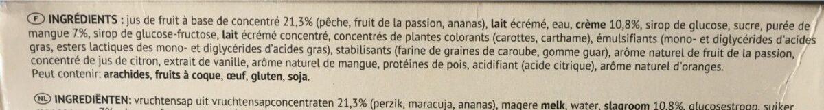 Big Exotic - Zutaten - fr
