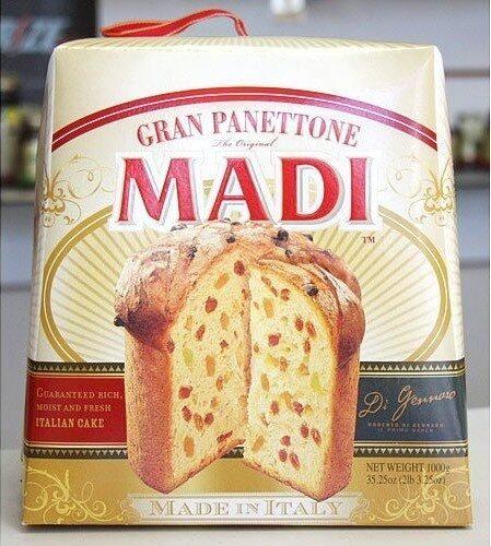 Italian cake net wt - Produit - en