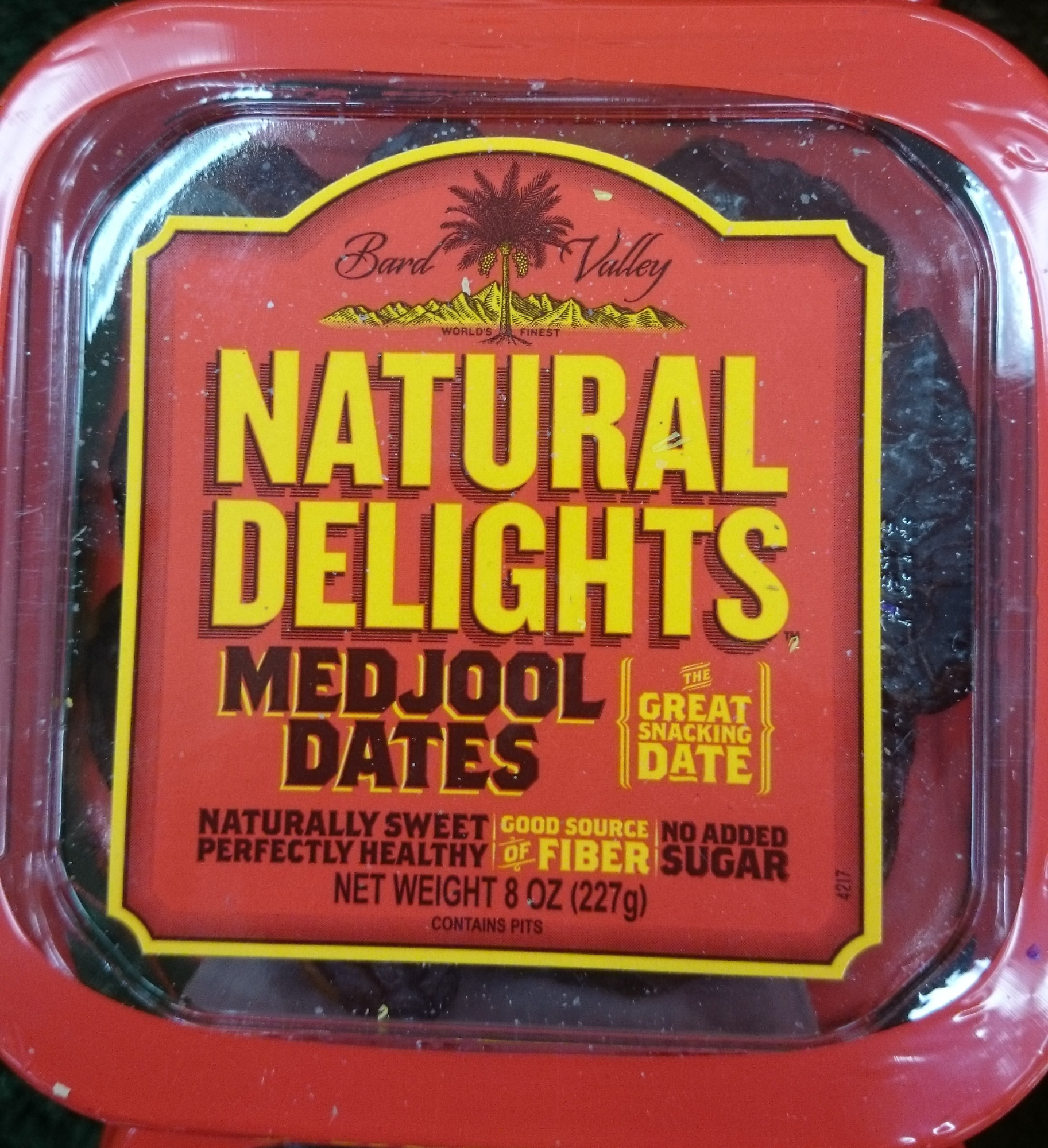 Bard valley natural delights, medjool dates - Product - en