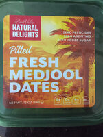 Pitted medjool dates - Product - en