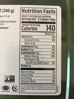 Pitted medjool dates - Nutrition facts - en