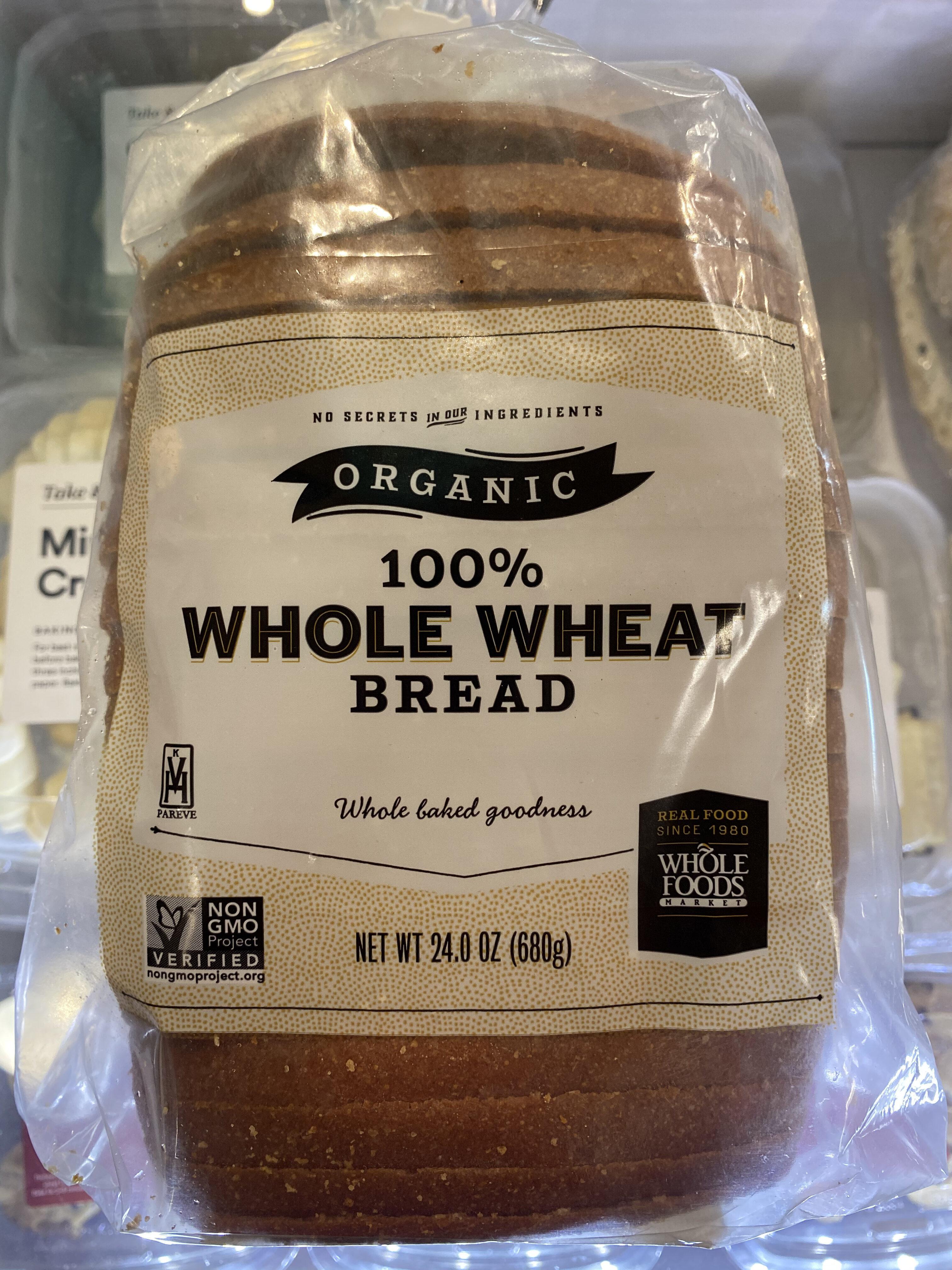 Whole wheat bread - Product - en