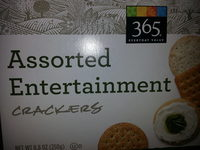 365 everyday value, assorted entertainment crackers - Product - en