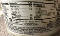 Grated parmesan cheese - Nutrition facts - en