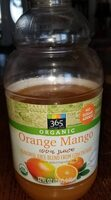 Orange Mango 100% Juice - Product