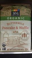 Organic Buttermilk Pancake and Waffle Mix - Product - en
