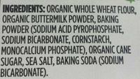Organic Buttermilk Pancake and Waffle Mix - Ingredients - en