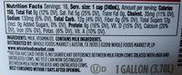 Vitamin D Milk - Ingredients