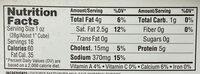 365 everyday value, feta cheese - Nutrition facts - en