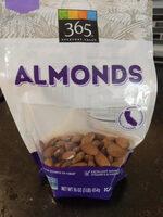 Whole almonds - Product - en