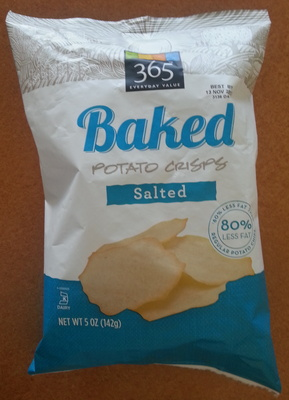 Baked Potato Crisps Salted - Product - en