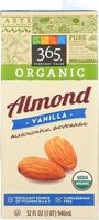 Organic almond milk vanilla flavor - Product - en