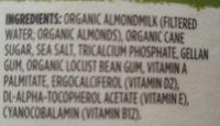 Almond original - Ingredients - en