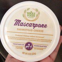 Mascarpone farmstead cheese - Produit - en