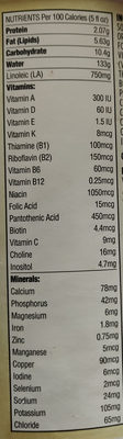 Powder infant formula - Nutrition facts - en