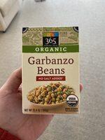 365 everyday value, organic garbanzo beans - Product - en