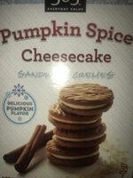 Pumpkin spice cheesecake sandwich cremes, pumpkin spice cheesecake - Product - en